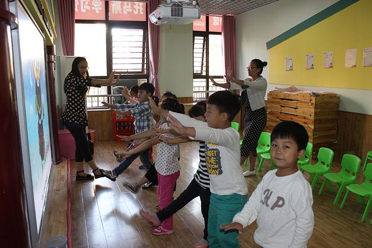 托马斯学习馆周口观澜国际校-少儿英语实景课堂